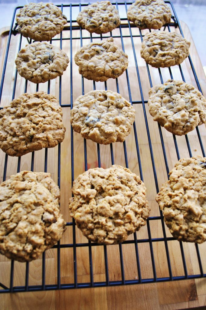 redo cookies 0691 681x1024 Chewy Chocolate Chip Oatmeal Cookies uncategorized sweet treats