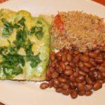 Cafe Tacuba-Style Creamy Chicken Enchiladas, by Rick Bayless
