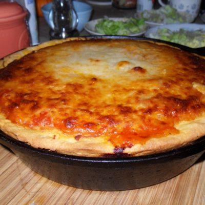 Emeril's Chicago Deep Dish Pizza