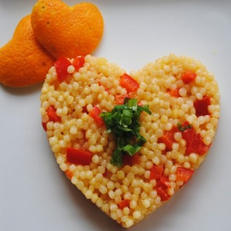 Orange Sesame Couscous