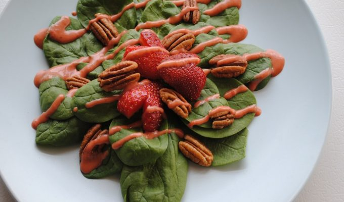 Fresh Strawberry Dressing