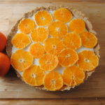 Fresh Orange and Yogurt Tart