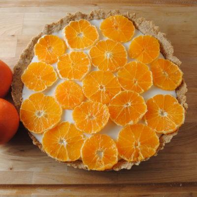 Fresh Orange and Yogurt Tart