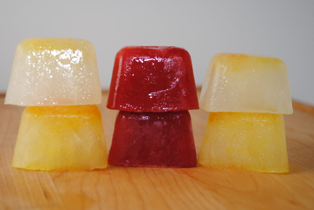 icecubes 022 1024x685 Fruit Infused Water holiday recipes chuls gang beverages