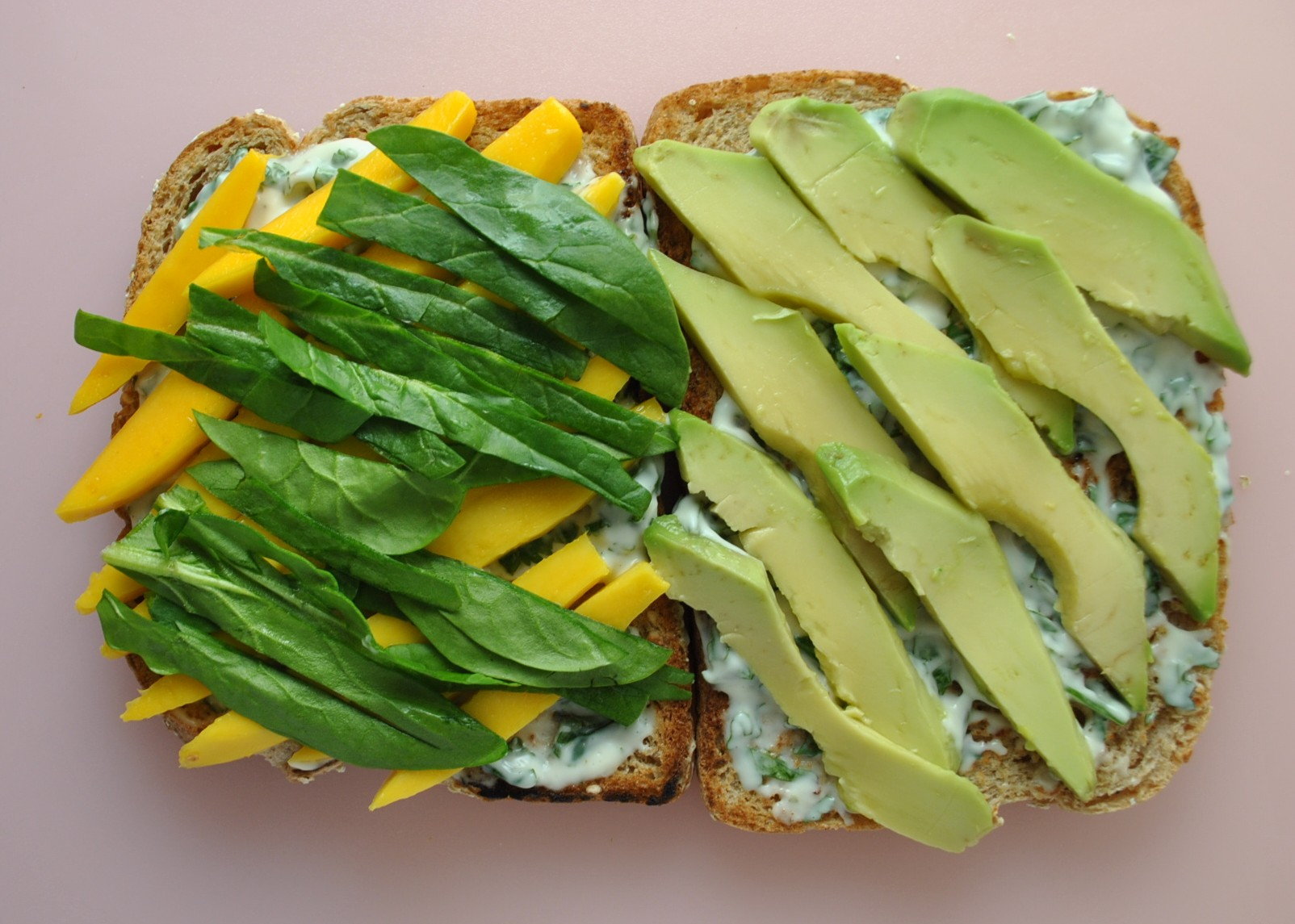 Avocado and Mango Sandwiches with Cilantro Lime Mayo - Sweet Life