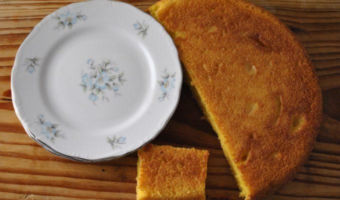 Emeril's Cast Iron Honey Cornbread