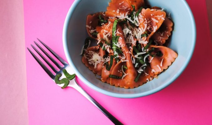 Tomato Basil and Balsamic Pasta
