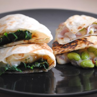 Quick Dinner … Quesadillas