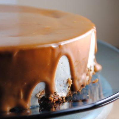 Shrimp with Cilantro Cream and Rice Pudding Cheesecake