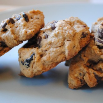 Chocolate Chip Cookies with Chickpeas