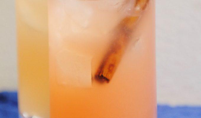 Cinnamon Grapefruitade