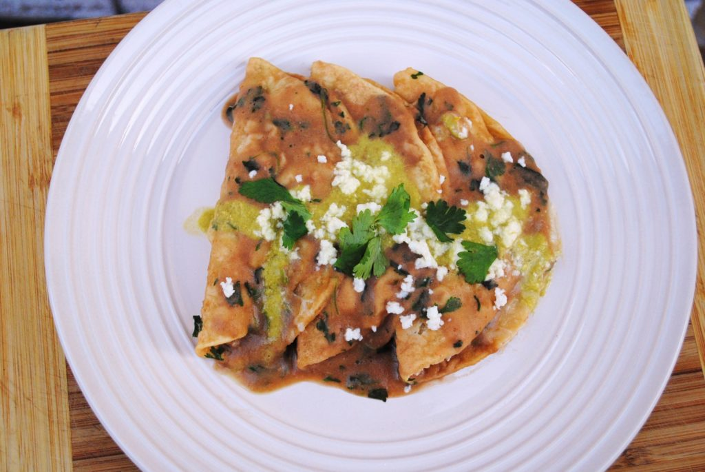 in bean sauce recipe enfrijoladas corn tortillas in black bean sauce ...