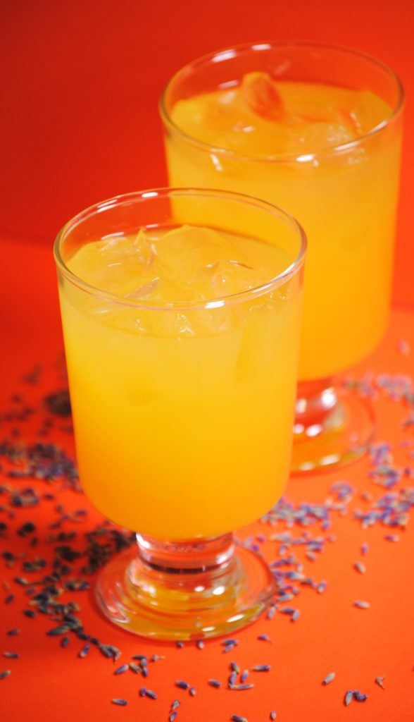 lavender orange cooler 008 588x1024 Lavender Citrus Cooler  beverages