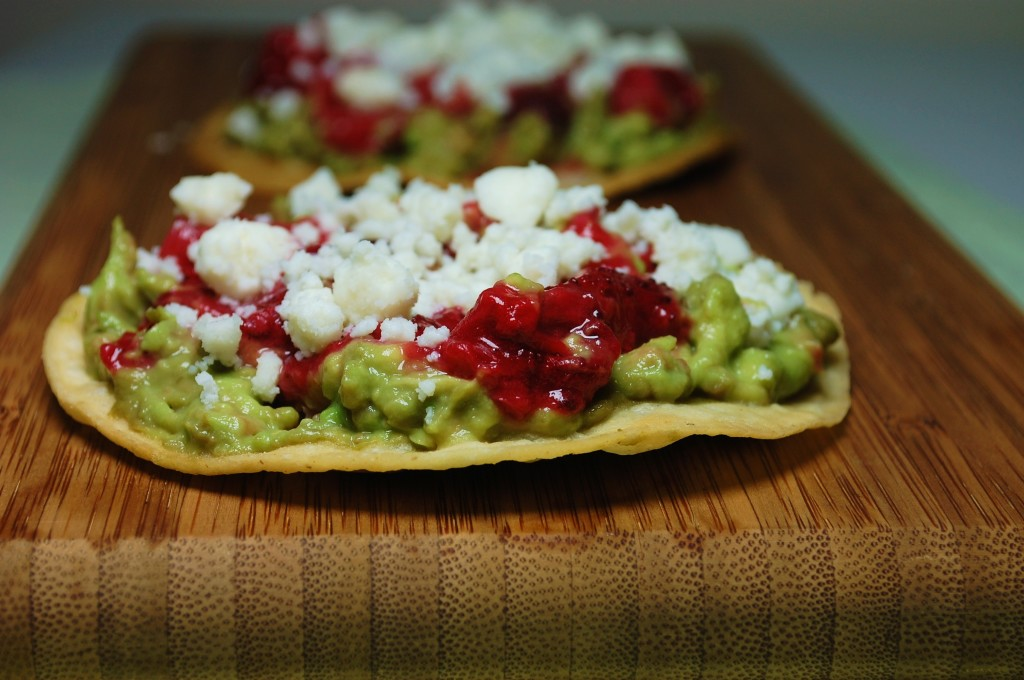 roasted strawberry tostada 077 1024x680 Mango Chicken Quesadillas and Roasted Oregano Strawberry Tostadas uncategorized
