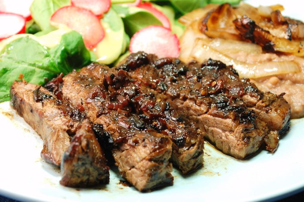 pom sauce 059 1024x680 Piquin POM Fajitas dinners