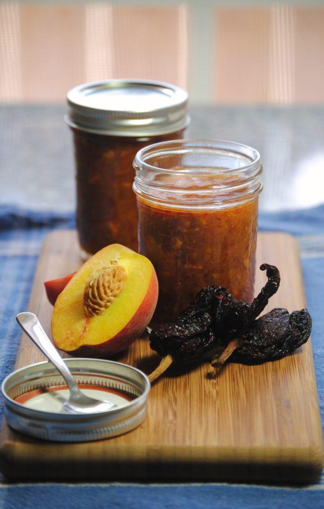 peach ancho sauce 061 652x1024 Summer Fest: Sweet Peach Ancho Chile Sauce dressings