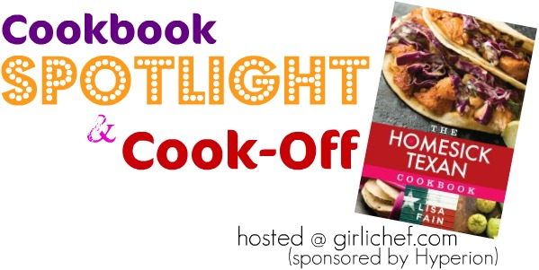 The Homesick Texan Cookbook Spotlight and Cook Off Banner The Homesick Texan Cookbook ~ Austin Style Black Beans side dishes homesick texan cooking challenges appetizers