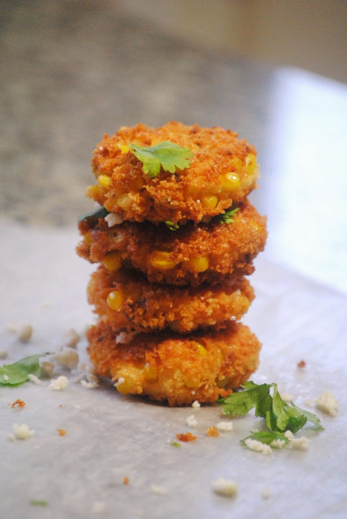 corn chorizo fritters 040 685x1024 Corn & Chorizo Fritters appetizers