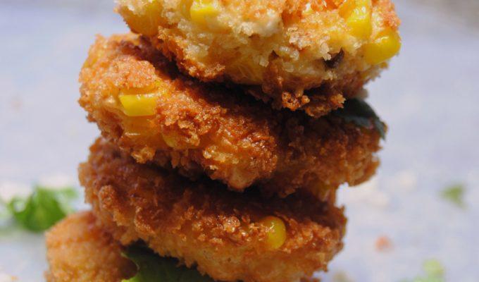 Corn & Chorizo Fritters