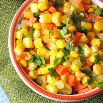 Quick Corn Saute