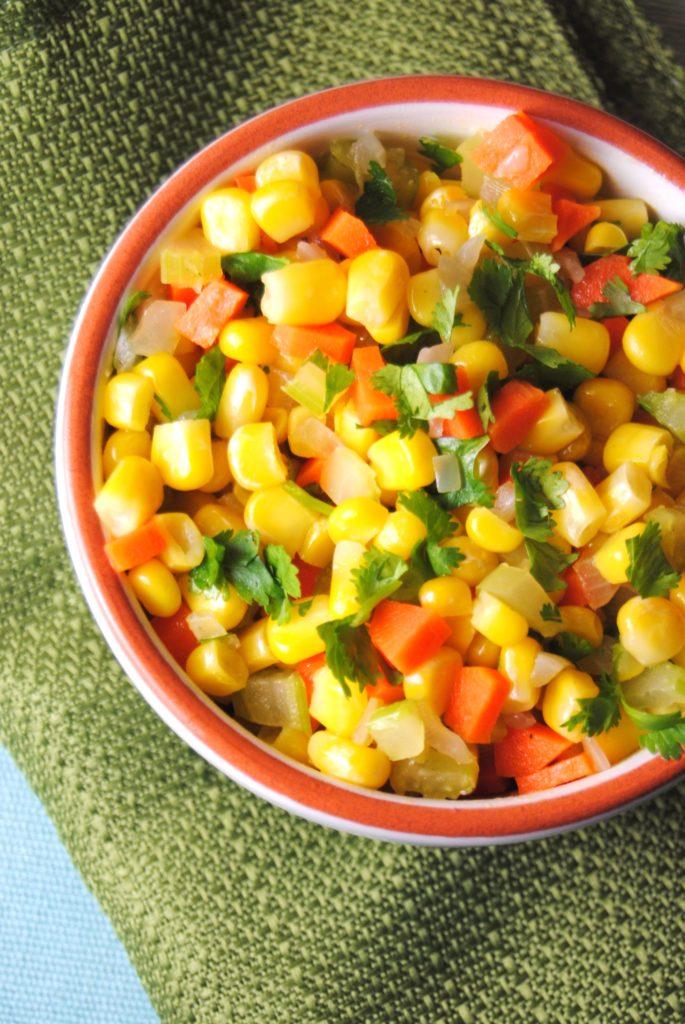 corn saute 016 685x1024 Quick Corn Saute side dishes