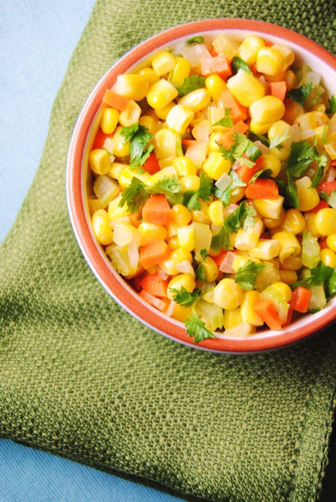 corn saute 029 685x1024 Quick Corn Saute side dishes