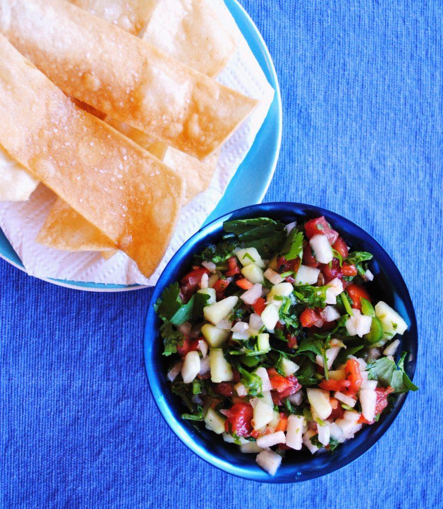 salsa cruda 016 893x1024 Salsa Cruda salsas dips appetizers