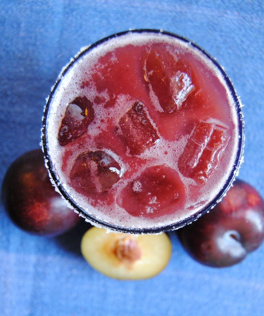 plum margarita 045 857x1024 Plum Margarita fruit margaritas beverages
