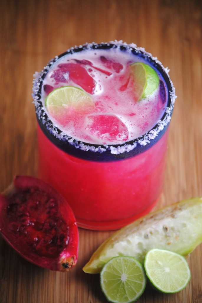 prickly pear margarita 001 685x1024 Prickly Pear Margarita fruit margaritas beverages