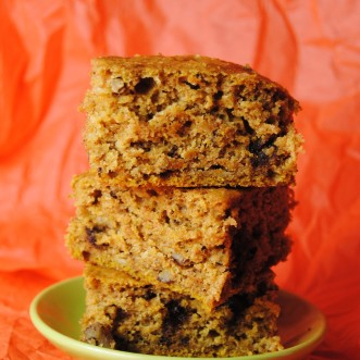 chocolate pumpkin bars 055