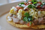 breakfast tostada 2