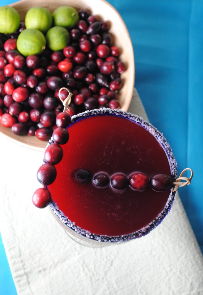 cranberry margarita 003 703x1024 Cranberry Margarita mexican margaritas holiday recipes