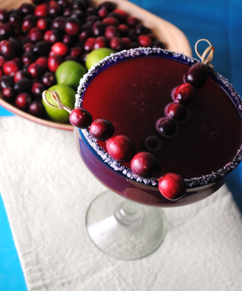 cranberry margarita 008 852x1024 Cranberry Margarita mexican margaritas holiday recipes