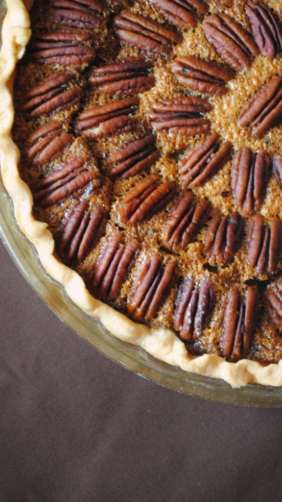 pecan pie 001 576x1024 Texas Monthly  Pecan Pie texas monthly holiday recipes baked goods