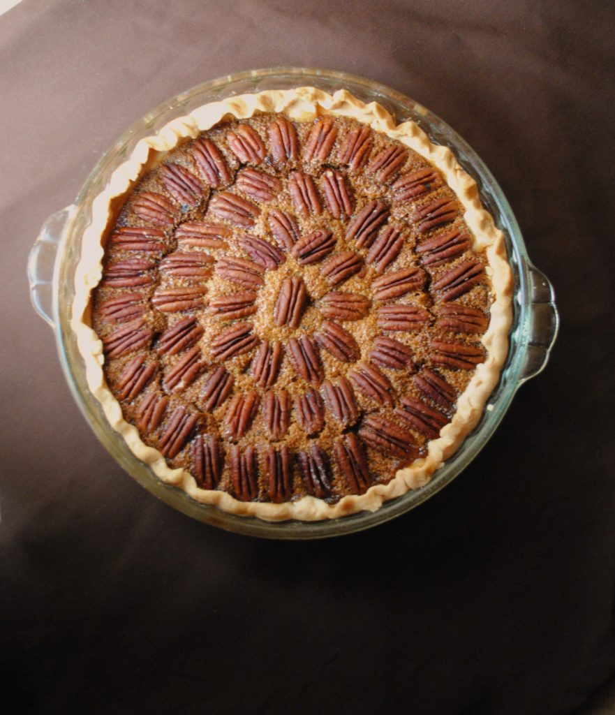 pecan pie 017 881x1024 Texas Monthly  Pecan Pie texas monthly holiday recipes baked goods