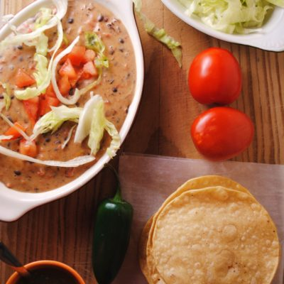 Cheesy Refried Beans