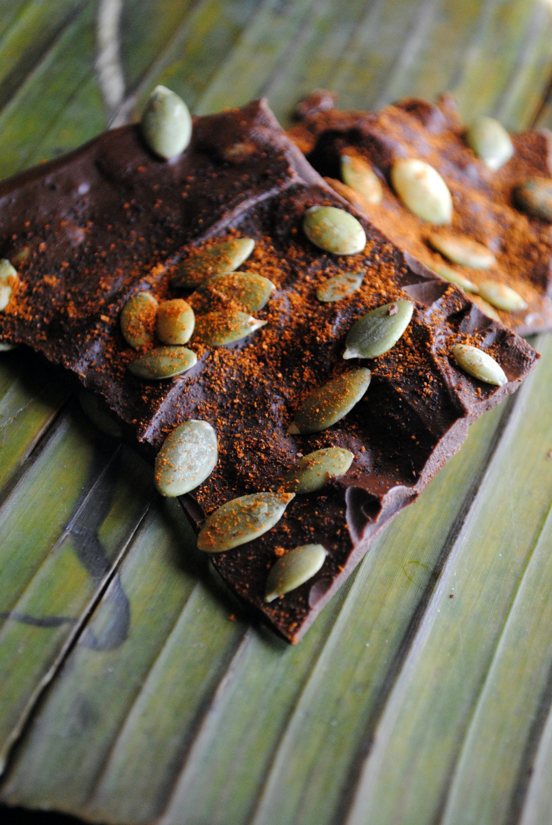 Aztec Chocolate Bark Recipe — Dishmaps
