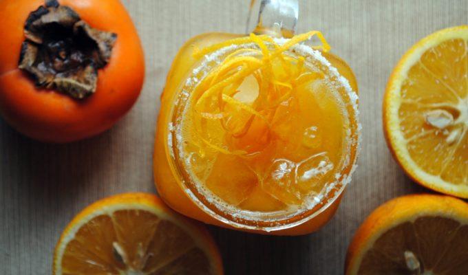 Orange Persimmon Margarita