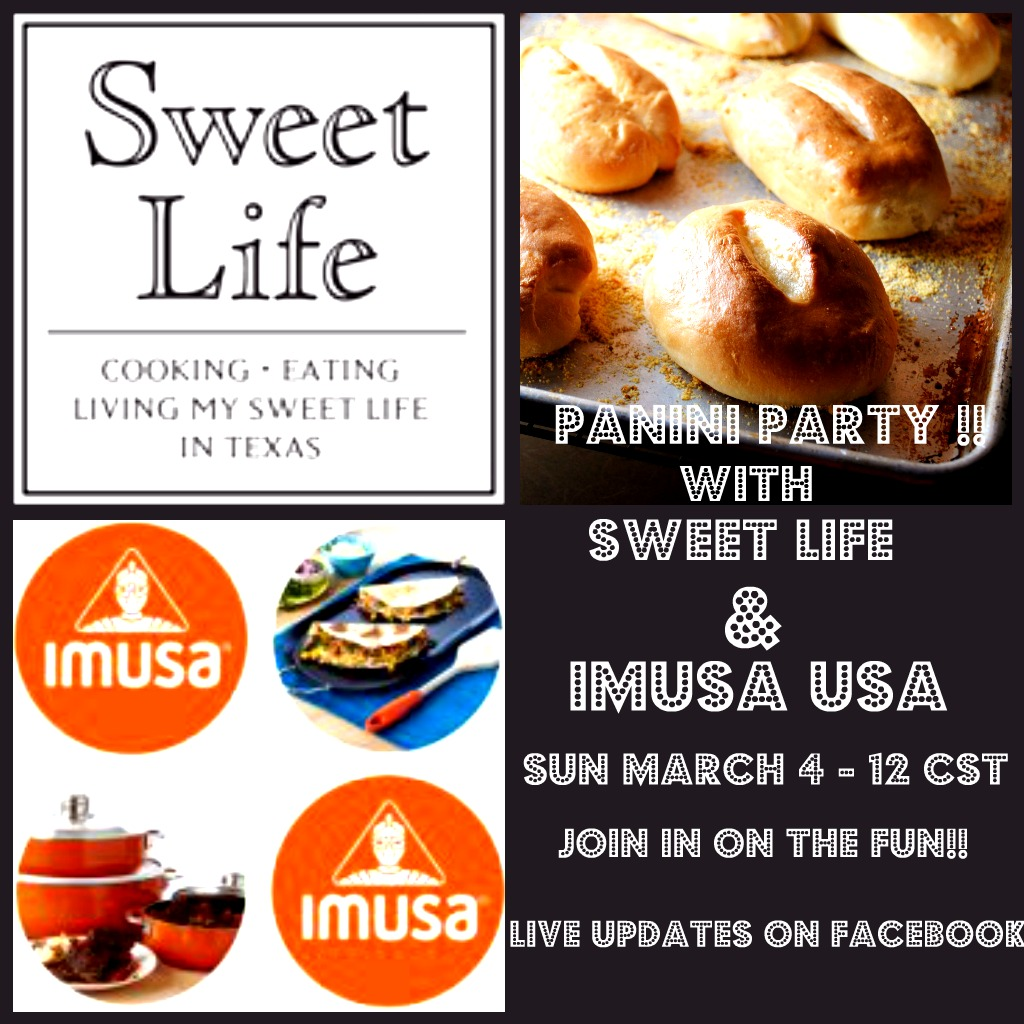 Panini Party Sweet Life and IMUSA USA uncategorized