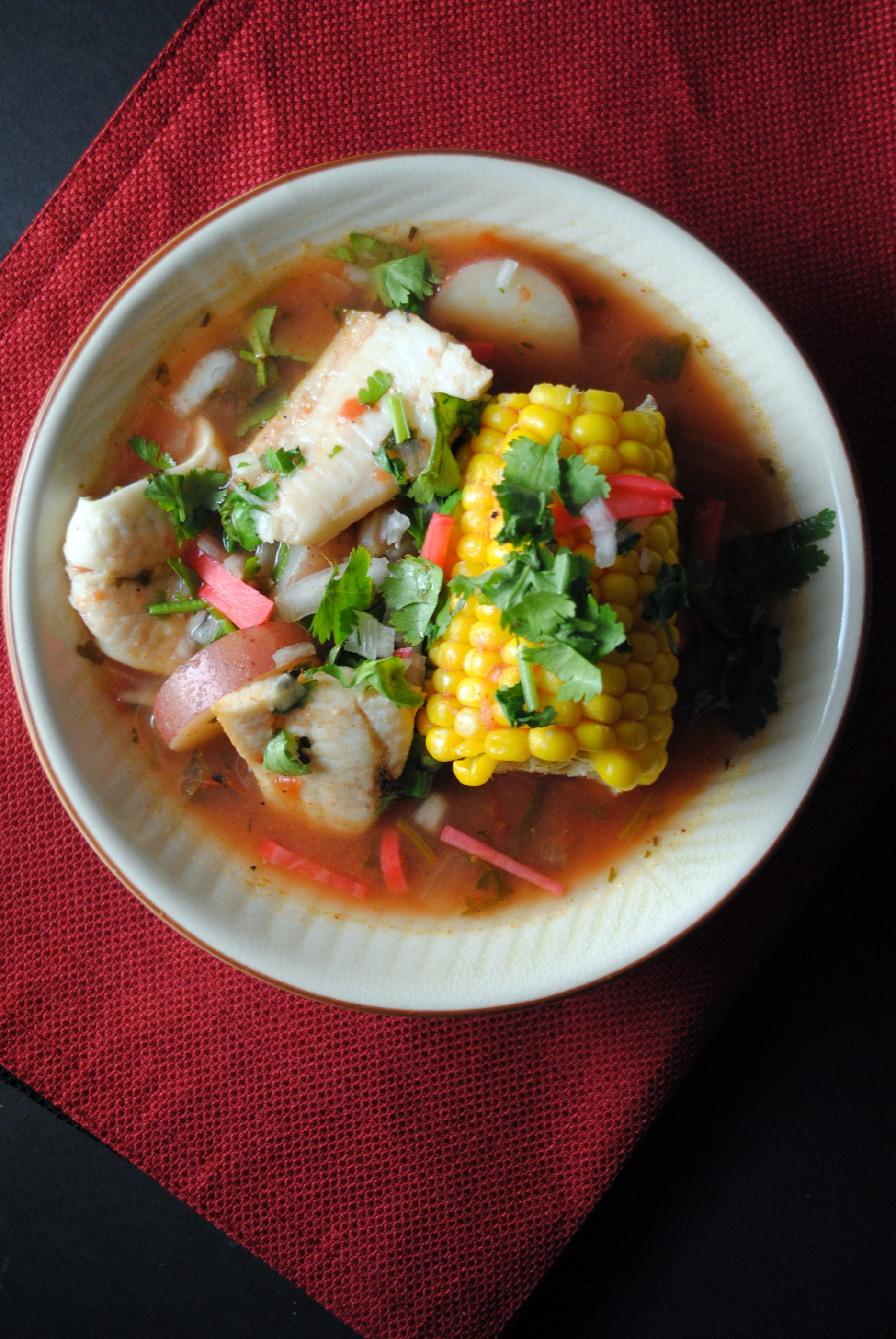 Mexican fish stew for Fish stew recipes