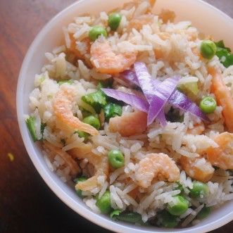 rice with dried shrimp 017