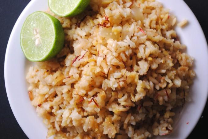 arroz con azafran, saffron rice 003