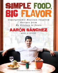 cookbook Chef Aarón Sánchez's Mexican Chocolate Pudding Cake sweet treats mexican desserts holiday recipes giveaways chef aaron celebrity chefs baked goods