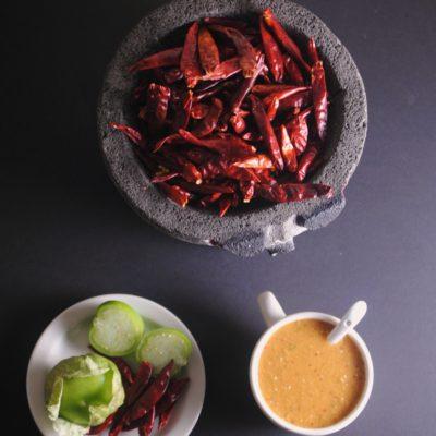 Rick Bayless ~ Salsa Roja de Chile Arbol