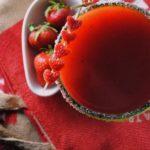 Strawberry Lime Margarita