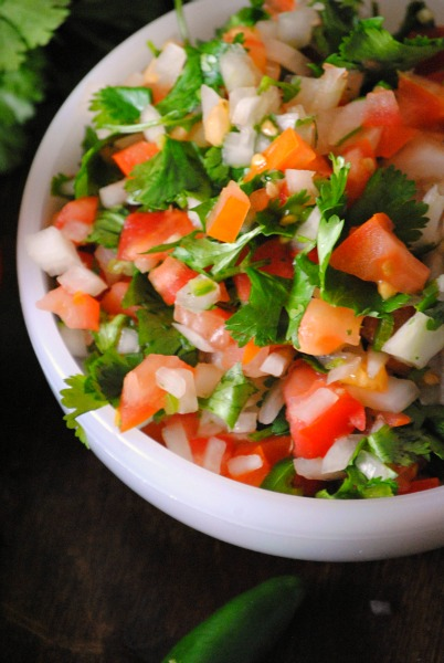 pico de gallo 2 0411 Pico de Gallo spicy recipes salsas dips mexican appetizers