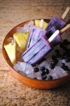 pineapple blueberry paletas, pops 029~1