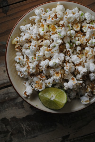Chile Lime Tequila Popcorn 0221 Chile Lime Tequila Popcorn  sponsored spicy recipes mexican holiday recipes giveaways appetizers