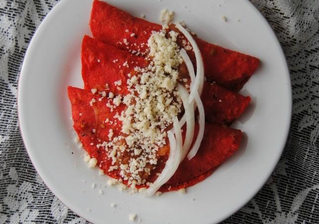 Enchiladas en Salsa Roja 042