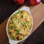 Apple Chorizo Cornbread Stuffing